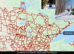 13-Snowmobile Trail Map